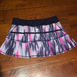 Lululemon Pace Setter Mirage Skirt Size 8 Regular